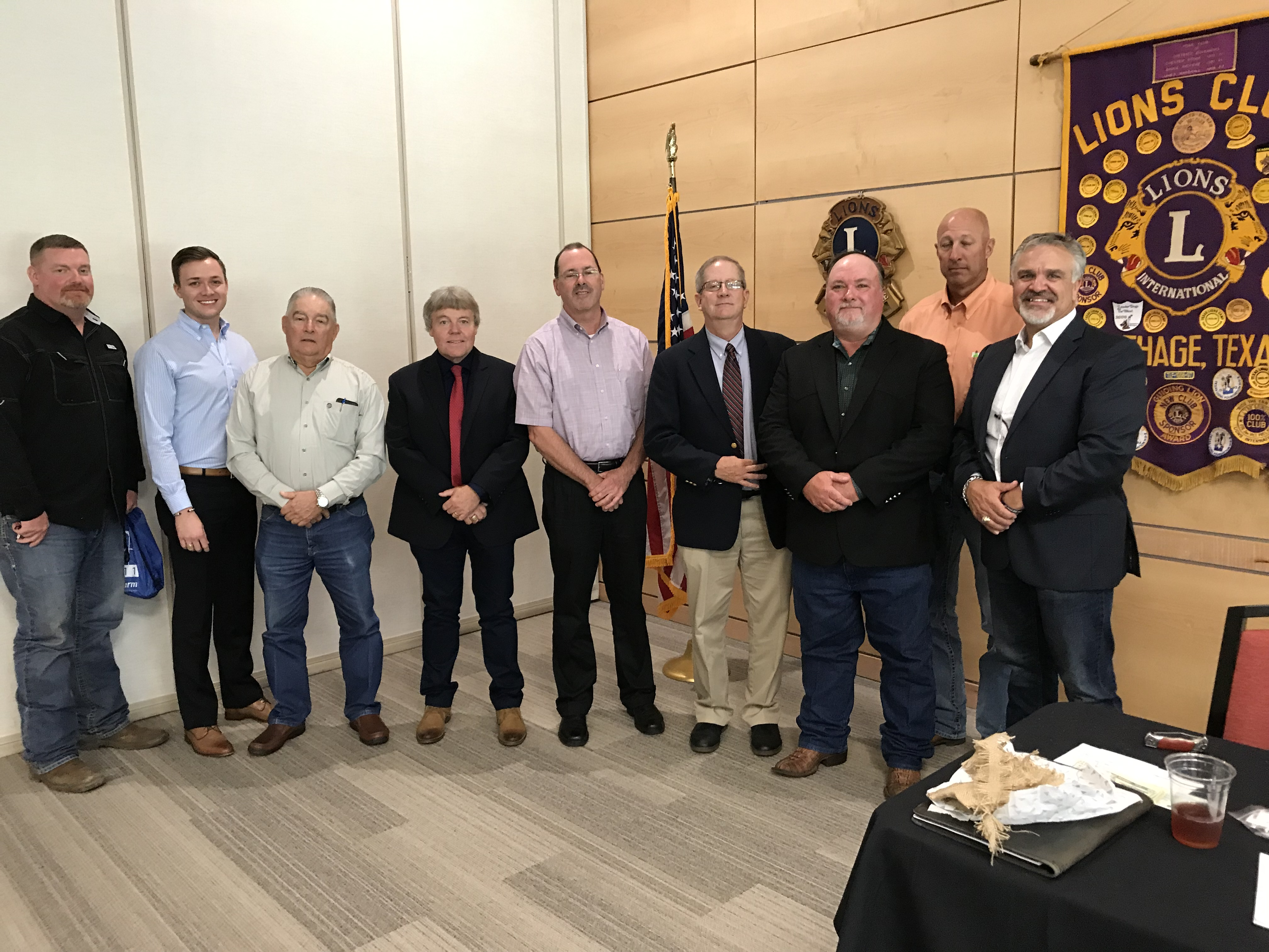 Carthage Lions Club announces new officers